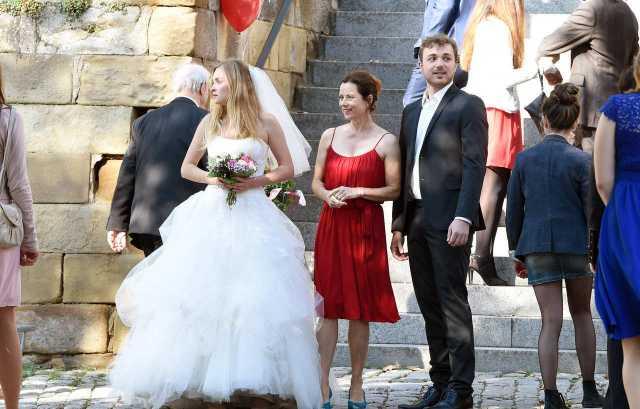 Eine Hochzeit