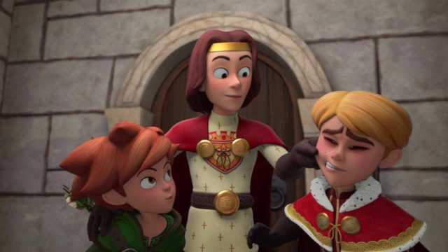robin hood  schlitzohr von sherwood robin und der könig
